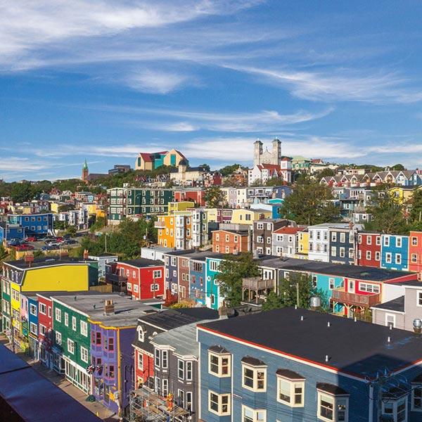 Jelly Bean Row >> Newfoundland And Labrador Tourism Paint The Town Jellybean Row